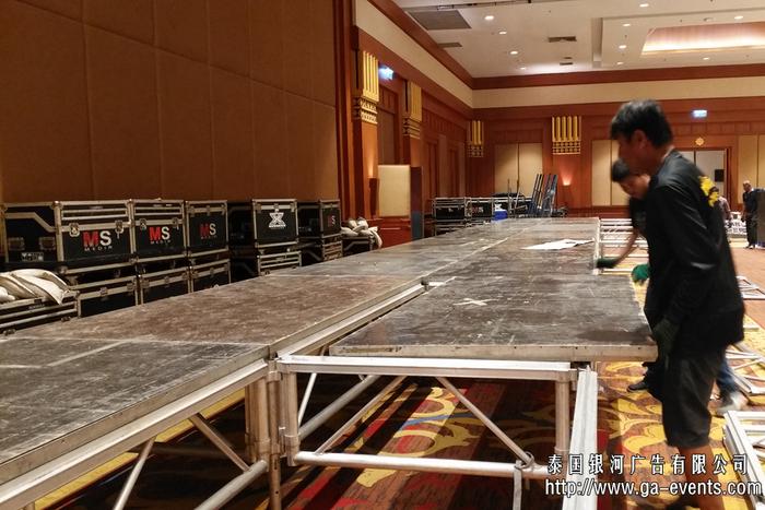泰國活動舞臺搭建