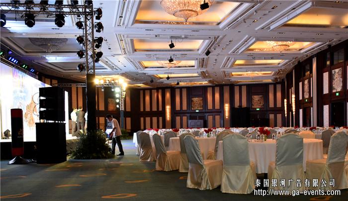 泰国曼谷普吉清迈芭堤雅舞台灯光音响设备租赁