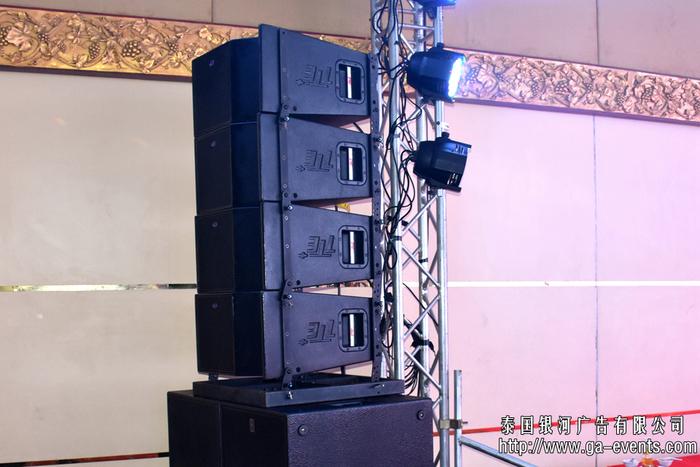 泰國舞臺音響設備租賃