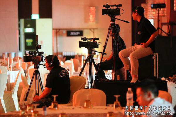 泰国会议活动摄影摄像
