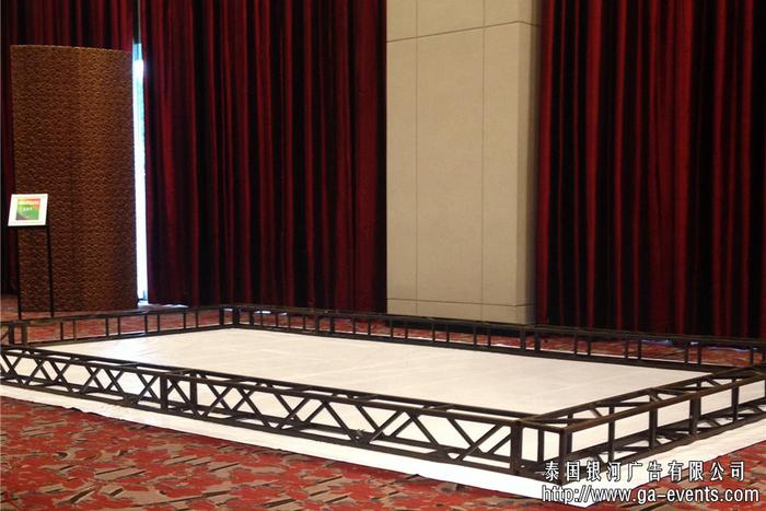 泰國舞臺設備租賃-泰國展架租賃-泰國桁架圍欄租賃:泰國銀河廣告有限公司